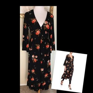 Moon River Floral Maxi Dress